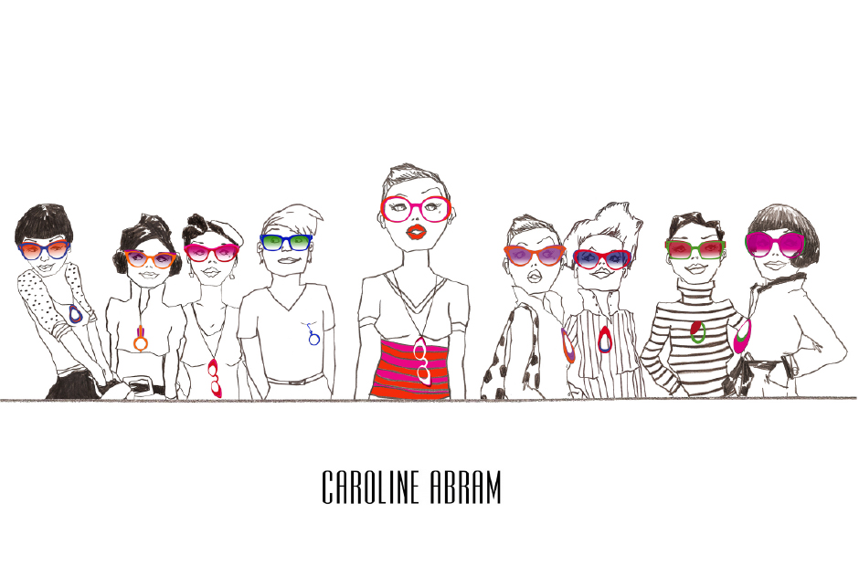 Gafas Caroline Abram- Color tropical